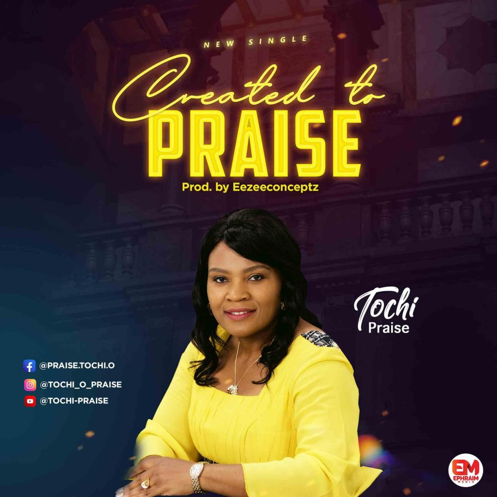 DOWNLOAD MP3: Tochi Praise - Created To Praise